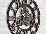 Кованые часы Воронеж №42