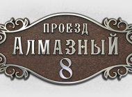 Кованые таблички, кованые почтовые ящики №21