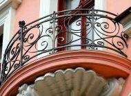 Кованые французские балконы Воронеж №31