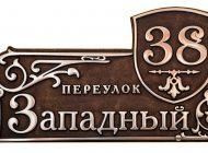 Кованые таблички, кованые почтовые ящики №25