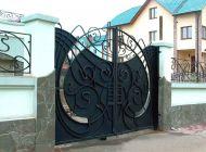 Кованые распашные ворота Воронеж №14