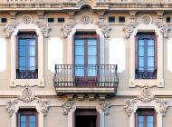 Кованые французские балконы Воронеж №46