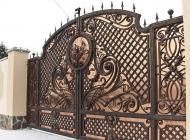 Кованые ворота и калитки фото Воронеж