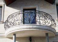 Кованые французские балконы Воронеж №57