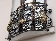 Кованые французские балконы Воронеж №58