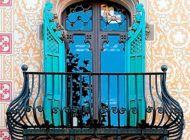 Кованые французские балконы Воронеж №60