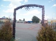 Кованые арки Воронеж №7