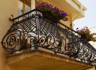 Кованые французские балконы Воронеж №64