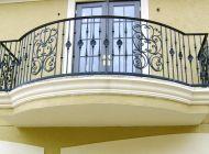 Кованые французские балконы Воронеж №65