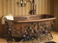 Кованая мебель для сантехнических комнат Воронеж