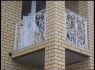 Кованые французские балконы Воронеж №67
