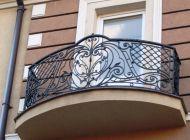 Кованые французские балконы Воронеж №68
