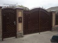 Кованые распашные ворота Воронеж №24