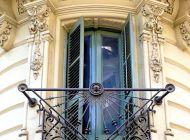 Кованые французские балконы Воронеж №74