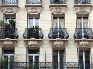 Кованые французские балконы Воронеж №75