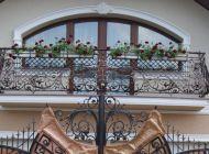 Кованые французские балконы Воронеж №77
