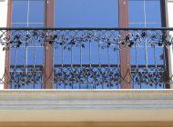 Кованые французские балконы Воронеж №73