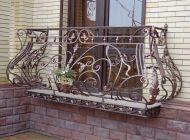 Кованые французские балконы Воронеж №87