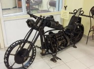 Фото мотоцикл из металла на заказ Воронеж