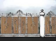Кованые откатные ворота Воронеж №35