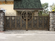 Откатные Кованые ворота Воронеж №6