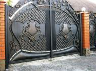 Кованые распашные ворота Воронеж №43